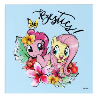 Pinkie Pie & Fluttershy | Besties Acrylic Print