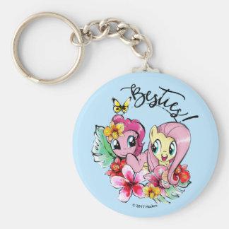 Pinkie Pie & Fluttershy   Besties Keychain