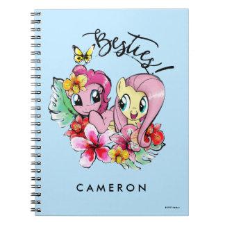 Pinkie Pie & Fluttershy | Besties Spiral Notebook