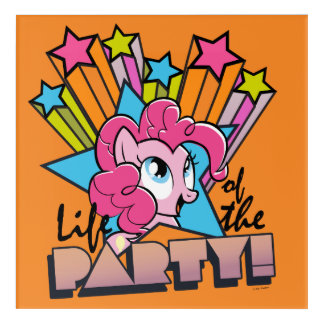 Pinkie Pie | Life of the Party! Acrylic Wall Art