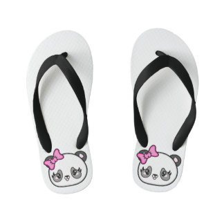 Pinkie Pinky Panda Flip Flops Kids