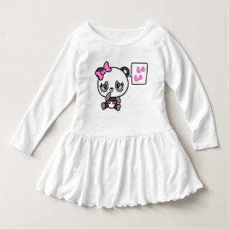 Pinkie Pinky Panda Toddler Ruffle Dress