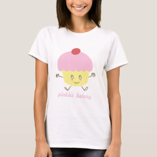 Pinkie's Bakery Cupcake Baby Doll T-shirt