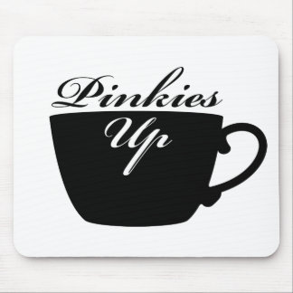 Pinkies Up Teacup Mousepad