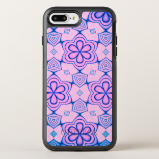 Pinkish Abstract Floral OtterBox Symmetry iPhone 8 Plus/7 Plus Case