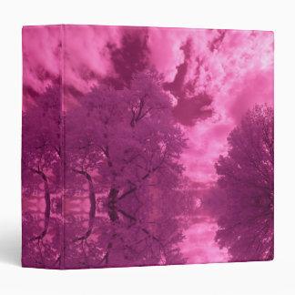 Pinkish Hues Infrared Cloud Binder