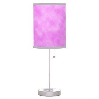 Pinkish Purple Created Clouds Design Lamp