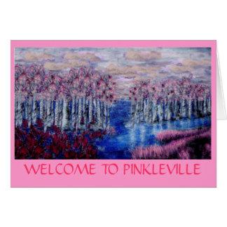 PINKLEVILLE CARD