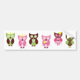 PinkLimeBugs3 Bumper Sticker