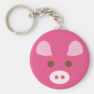 PinkPig1 Keychains