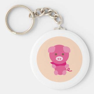 PinkPig6 Key Chains