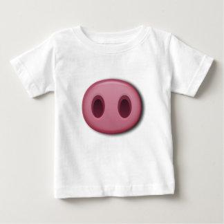 PinkPig Snout Baby T-Shirt