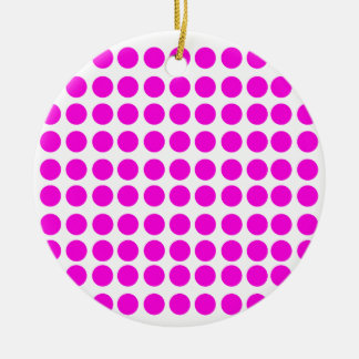 pinkpoka collections ceramic ornament