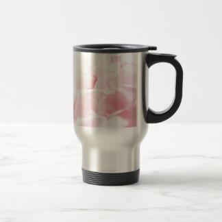 PinkRose Petals Travel Mug