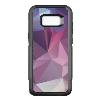 Pinks Blues Abstract Pyramid Pattern OtterBox Commuter Samsung Galaxy S8+ Case