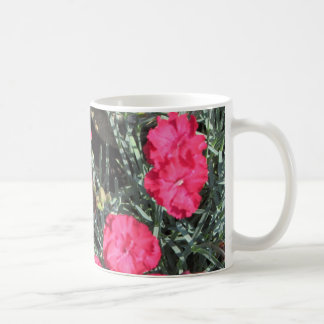 Pinks-Dianthus Frosty Fire Coffee Mug