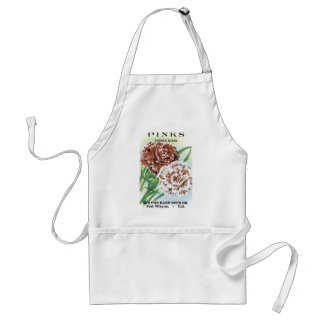 Pinks Double Mixed Wayne Bash Seed Co Standard Apron