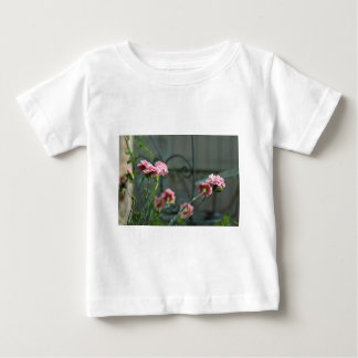 Pinks growing in a Cotswold Garden Baby T-Shirt