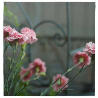 Pinks growing in a Cotswold Garden Napkin
