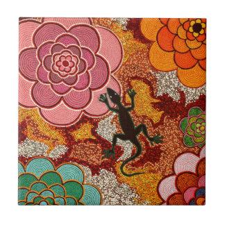 Pinks of the desert tile