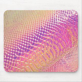 Pinks Snake Skin Mouse Pad