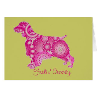 pinkwelsh, Feelin' Groovy! Card