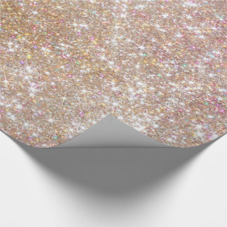 Pinky Glitter Wrapping Paper