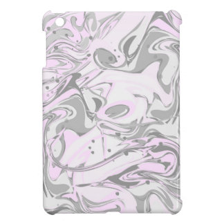 Pinky marble texture for trendy girls cover for the iPad mini