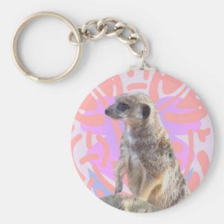 Pinky Meerkat Keychain