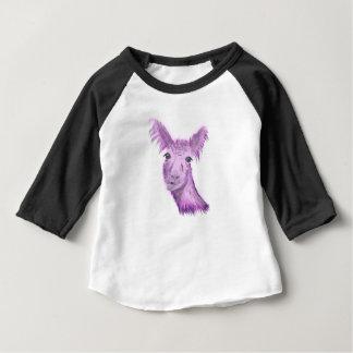 Pinky Posh Llama Baby T-Shirt