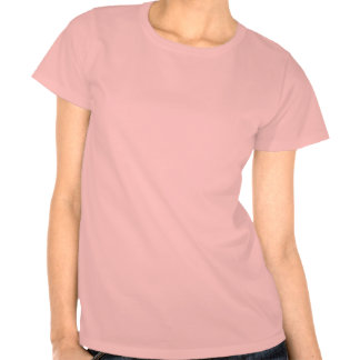 Pinky psychedelic fractal flower t-shirts