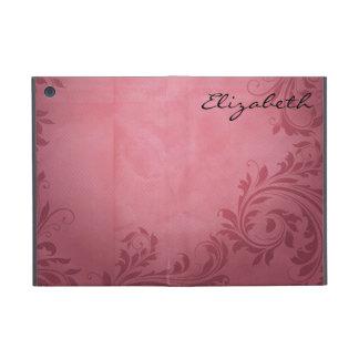 Pinky Purple Damask Pattern Case For iPad Mini