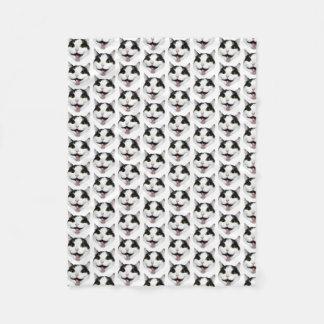 Pinky the Cat Fleece Blanket