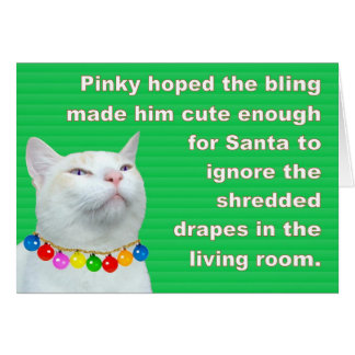 Pinky's Bling Card