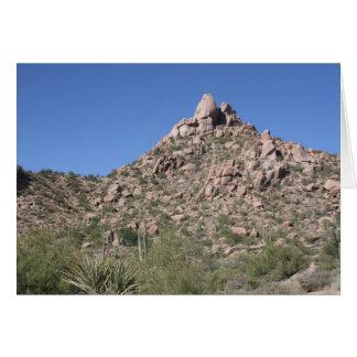 Pinnacle Peak Card