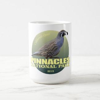 Pinnacles NP (California Quail) WT Coffee Mug