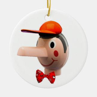 Pinocchio Ceramic Ornament