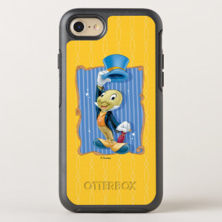 Pinocchio | Jiminy Cricket Lifting His Hat OtterBox Symmetry iPhone 8/7 Case