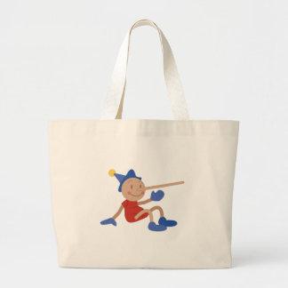 Pinocchio Large Tote Bag