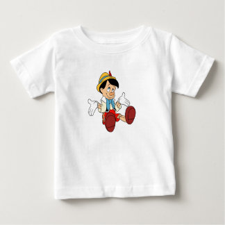 Pinocchio Shrugging His Shoulders Disney Baby T-Shirt