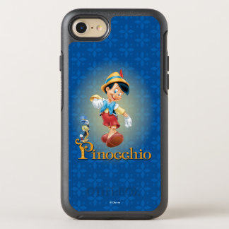 Pinocchio with Jiminy Cricket OtterBox Symmetry iPhone 8/7 Case