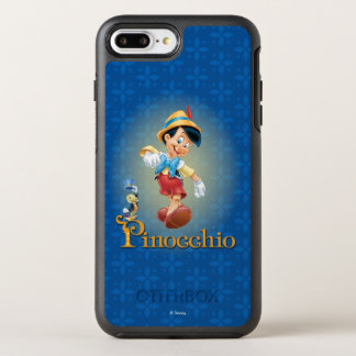 Pinocchio with Jiminy Cricket OtterBox Symmetry iPhone 8 Plus/7 Plus Case