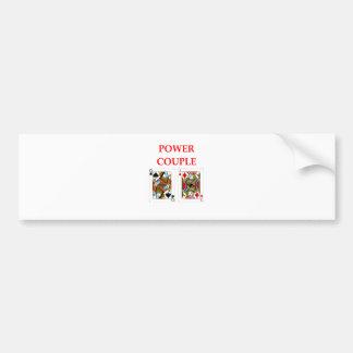 pinochle bumper sticker