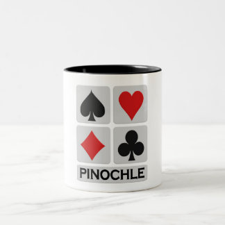 Pinochle mug - choose style & color