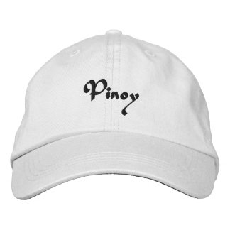 Pinoy Embroidered Baseball Cap