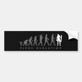 Pinoy Evolution Lapu Lapu Bumper Sticker