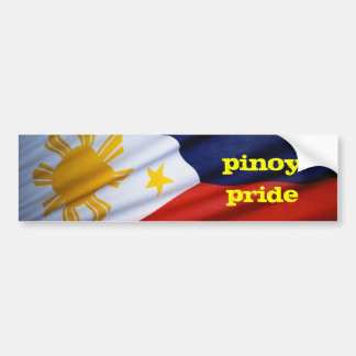 pinoy pride bumper sticker