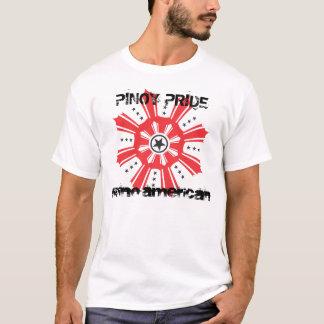 Pinoy Pride - Filipino American T-Shirt