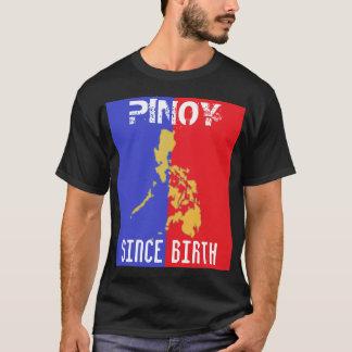 Pinoy Since Birth Basic Dark T-Shirt