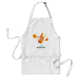 Pinpin carrot and its carrot cake standard apron